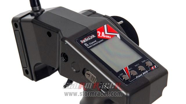 Remote RadioLink RC6GS (2.4G-6CH) w/R6FG receiver 014