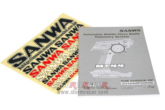 Remote Sanwa MT-44 w/RX-482 #101A32173A 003