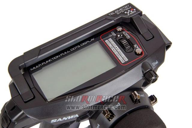 Remote Sanwa MT-44 w/RX-482 #101A32173A 013