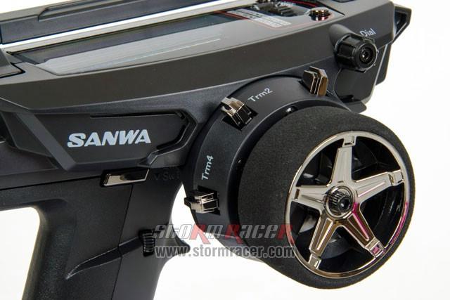 Remote Sanwa MT-44 w/RX-482 #101A32173A 014