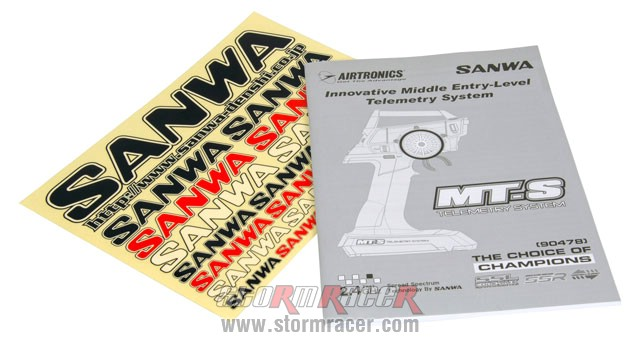 Remote Sanwa MT-S w/RX-482 #101A31974A 003