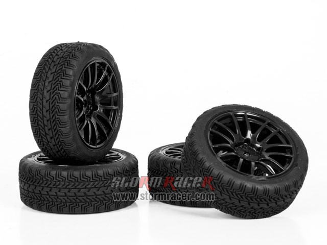 CPV 1/10 Onroad Tires #3826-4 002
