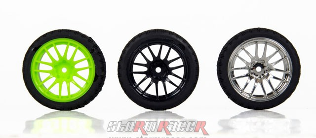 CPV 1/10 Onroad Tires #3826-4 007