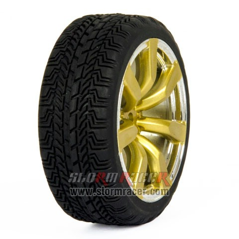 CPV 1/10 Onroad Tires #8131-4 004