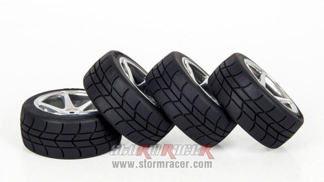 HPI Onroad Tires #3032-4 004