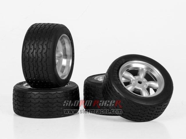 HPI Onroad 1/10 Tires #3820-4 003
