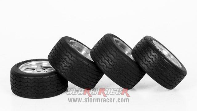 HPI Onroad 1/10 Tires #3820-4 004