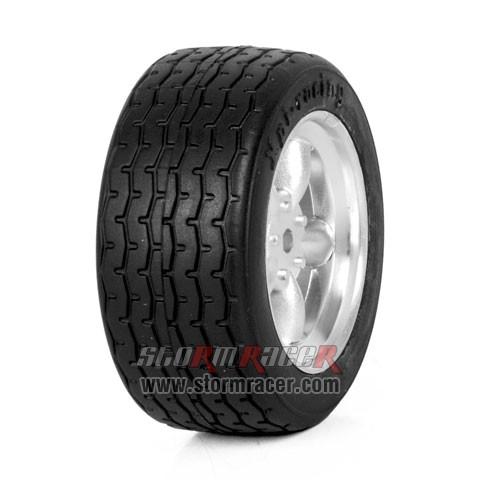 HPI Onroad 1/10 Tires #3820-4 006