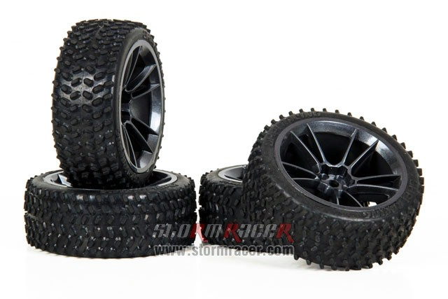 HPI Onroad rally Tires #4470-4 003