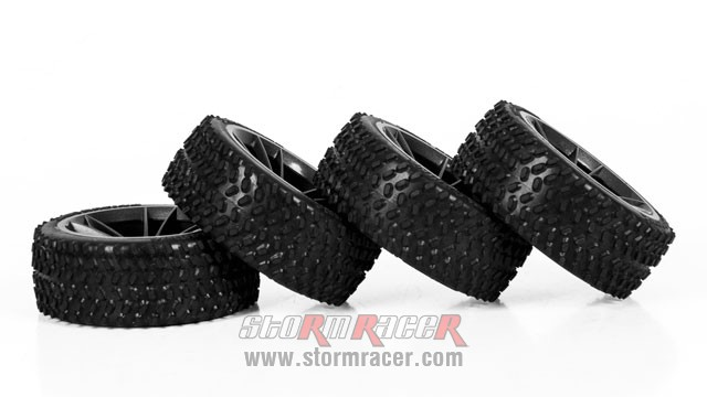 HPI Onroad rally Tires #4470-4 004