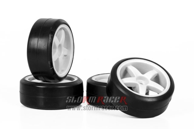 Hongnor 1/10 Onroad Tires #FS-14 Slick 002