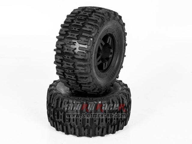 Hongnor 1/5 Truck Tires #HN-B-42-2 001