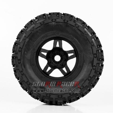 Hongnor 1/5 Truck Tires #HN-B-42-4 (4P) 004